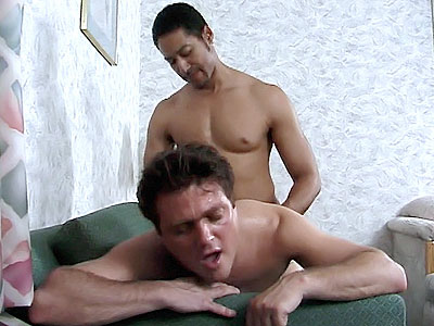 White Gay Interracial examine